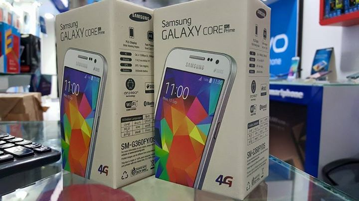 Samsung Galaxy Core Prime 4G (SM-G360F) reportedly launched in India for Rs. 9,999