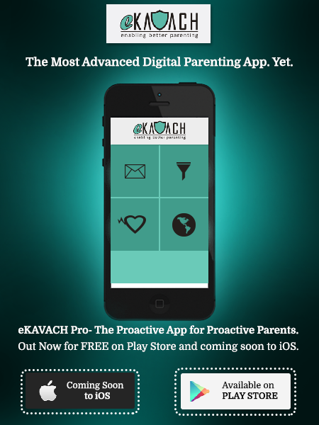 eKAVACH App Review : Monitor your children's online activity easily