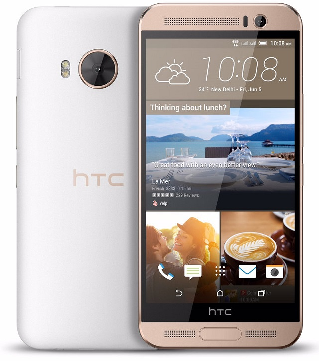 HTC One ME Dual Sim with 5.2 inch Quad HD screen launched at Rs. 40,500
