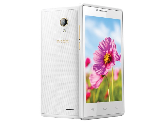 Intex Aqua Q5 with 4.5 inch screen, 1 GB RAM launched at Rs. 5090