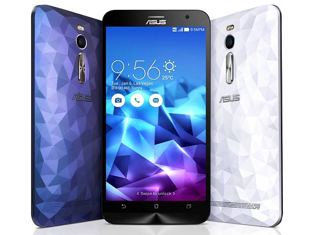 Asus ZenFone 2 Deluxe ZE551ML with Diamond Cut back launched in India at Rs. 22,999