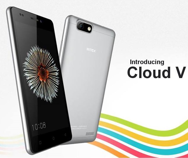 Intex Cloud V with 5 inch screen available online in India for Rs. 3,999