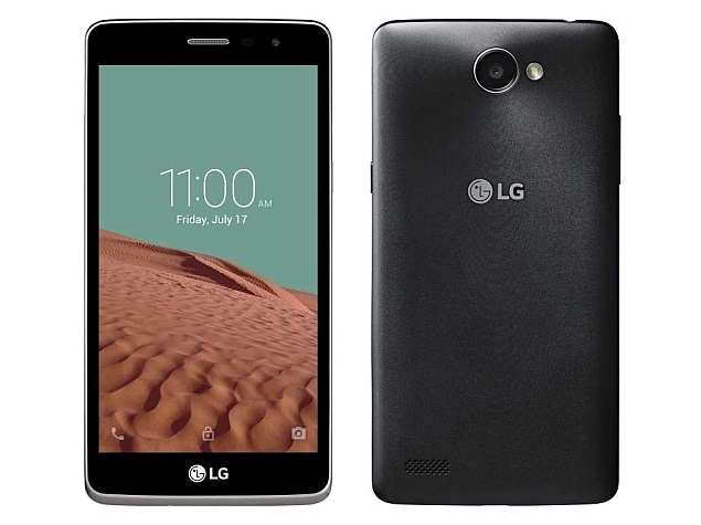 LG Max X160 Selfie smartphone launched in India at Rs. 10,990