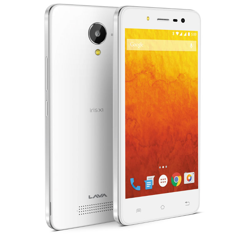 Lava Iris X1 Selfie with 4.5 inch screen launched in India at Rs. 6,777