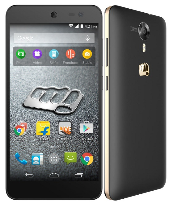 Micromax Canvas Xpress 2 E313 goes out stock in 2 Minutes in first flash sale