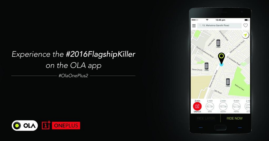 Now you can try OnePlus 2 before buying in India via Ola Cabs