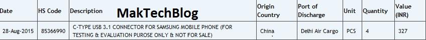 Samsung USB Type -C