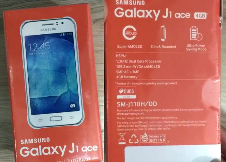 Samsung Galaxy J1 Ace SM-J110 available in India for ₹6,400