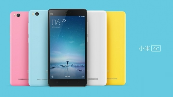 Xiaomi Mi4c launched in China, price starts at RMB 1,299