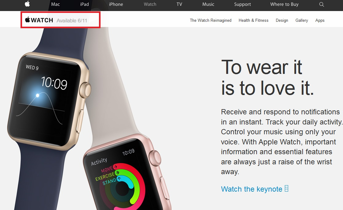 Apple Watch to go on sale in India from today, to be priced above Rs. 30,000