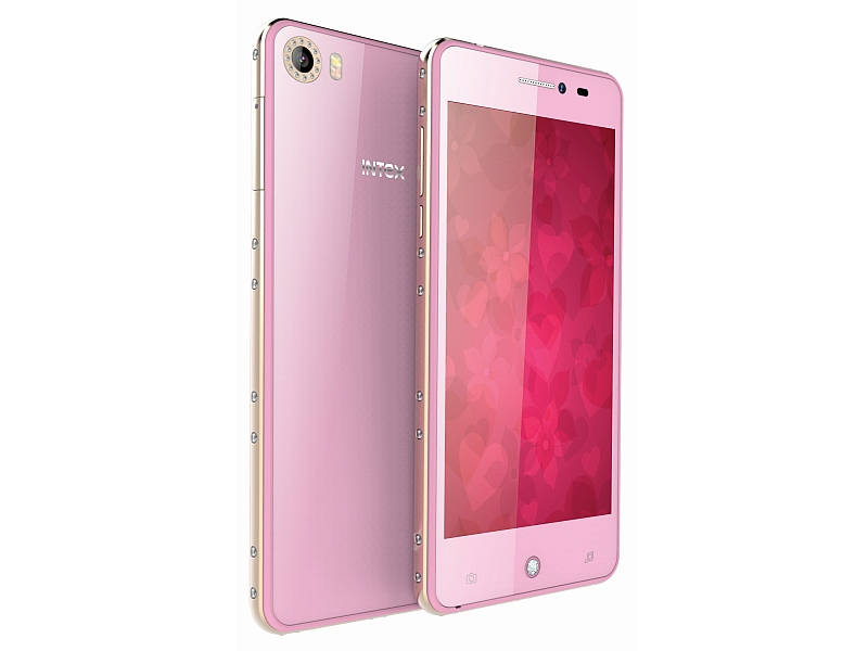 Intex Aqua Glam price in India for Rs. 7,590, Specifications and features