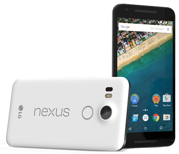 LG made Google Nexus 5x with finger print sensor announced