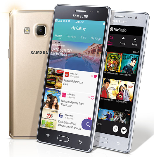 Samsung Z3 running on Tizen OS launched in India at Rs. 8,490