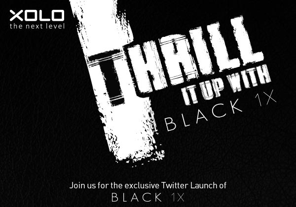 Xolo to launch Xolo Black 1X with 4.6 inch screen on 28 October