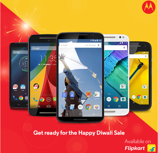 Under Diwali Sale, Motorola devices available at reduced rates in India