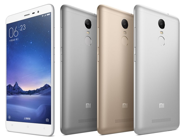 Xiaomi Redmi Note 3 with Fingerprint scanner announced in China