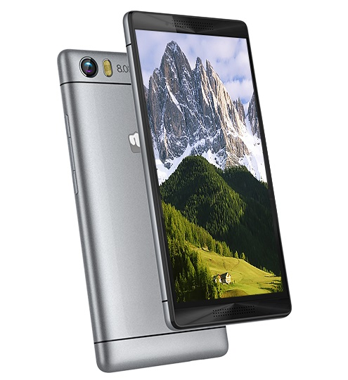 Micromax Canvas Fire 4G+ Q412 listed on company website