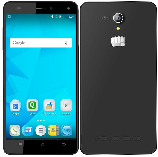 Micromax Canvas Pulse 4G E451 listed on company website