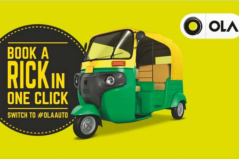 Ola Cabs launches Auto Rickshaw in Indore with Zero base fare