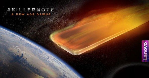 Lenovo K4 Note teaser