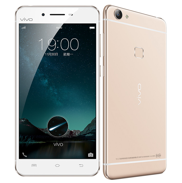 Vivo X6 with 5.2 inch screen, Fingerprint sensor announced in China