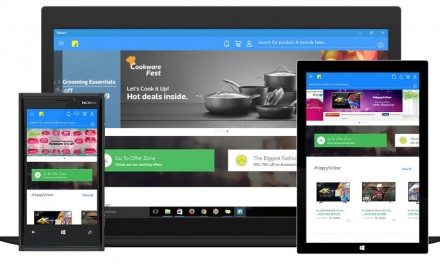 Flipkart releases Windows 10 App for PC, Mobile and Tablet
