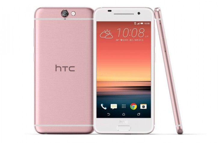 HTC One A9 in Pink color launched in Taiwan