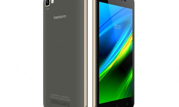 Karbonn K9 Smart with 21 Indian languages support launched at Rs. 3,990