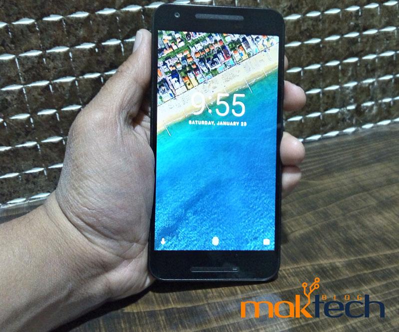 LG Nexus 5X Front