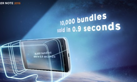 10,000 units of Lenovo K4 Note VR Bundle sold out in 0.9 sec in first flash sale