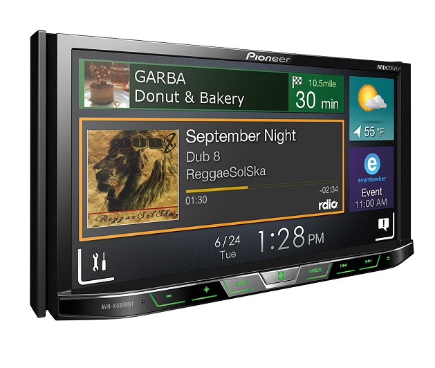 Pioneer launches AVH-X5890BT, in car touch screen AV Player for Rs. 29,990
