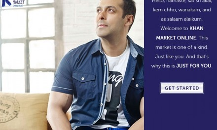 Salman Khan launches new website, Khan Market Online, on Twitter