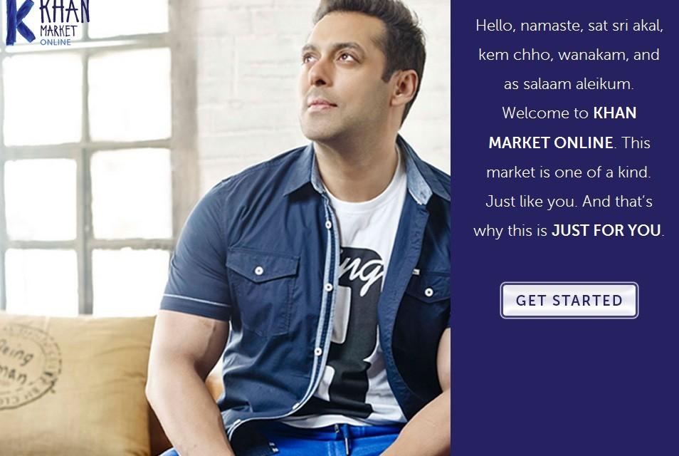 Salman Khan launches new website, Khan Market Online, on Twitter