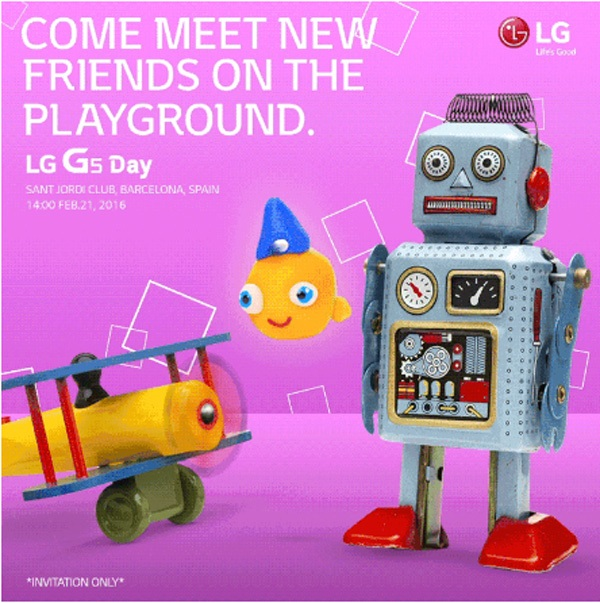 LG to launch its flagship, LG G5 today at 6:30 PM IST, watch it live here