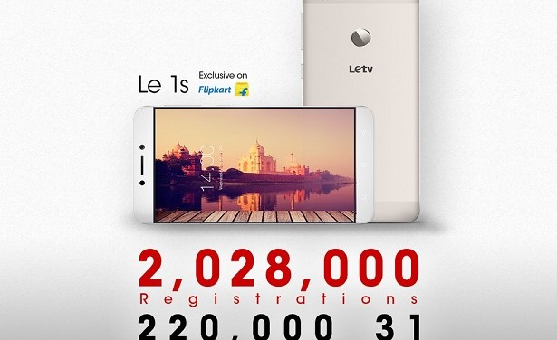 LeEco sells 55,000 units of LeEco Le 1S in 9 seconds in third flash sale