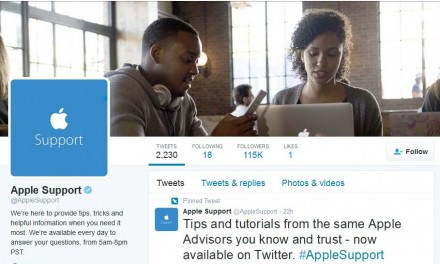 Now Apple will offer you support via official Twitter handle @AppleSupport