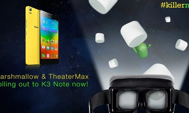 Lenovo K3 Note gets Android 6.0 Marshmallow update in India