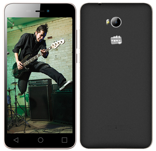 Micromax Canvas Spark 3 Q385 listed on company website