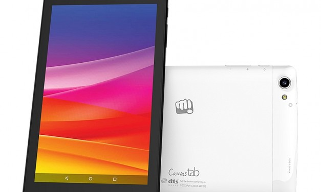 Micromax Canvas Tab P702 tablet with 4G launched in India for Rs. 7,999