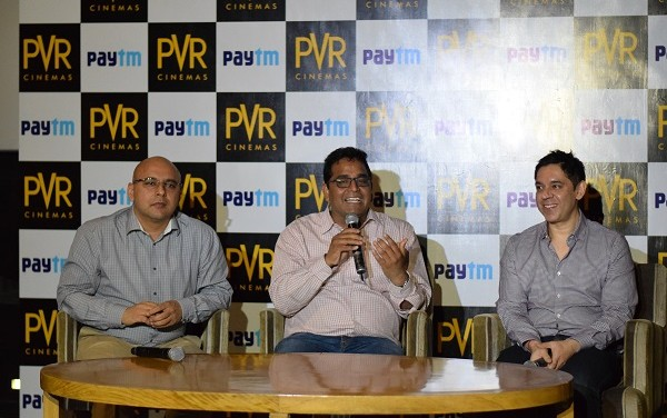 PVR ties up with PayTM to sell movie tickets on e-Commerce website