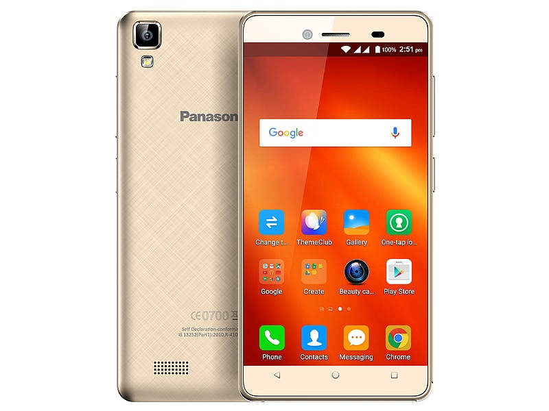 Panasonic T50 with Sail UI launched in India at Rs. 4,990