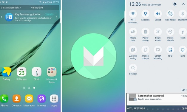 Samsung Galaxy S6, S6 Edge getting Android 6 Marshmallow update in India