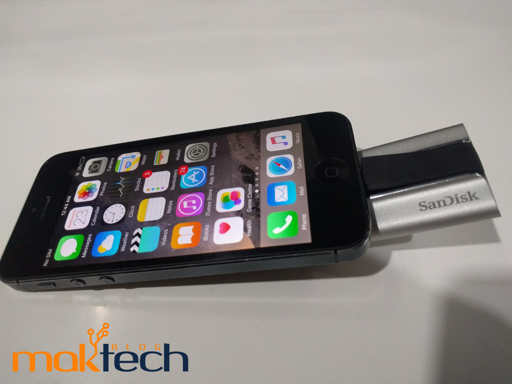 SanDisk Flash Drive iPhone review
