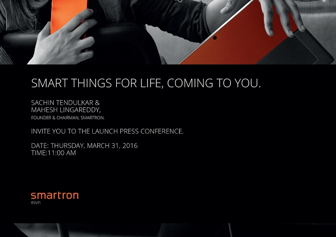 Smartron to launch new smartphone and tablet in India tomorrow