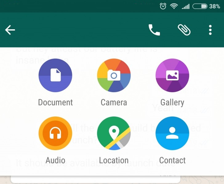 WhatsApp for Android gets File Sharing and Post formatting