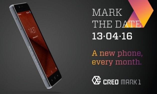 CREO Mark 1 launching in India on 13 April, promises new feature every month
