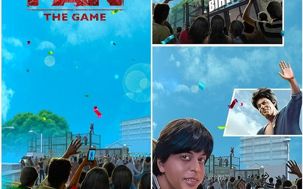 Fan The Game available for SRK's upcoming movie 'Fan'