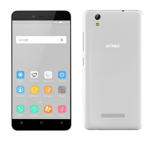 Gionee P5L Price in India, Specs