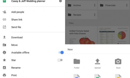 Google Drive for Android updated with inline uploads and other new features