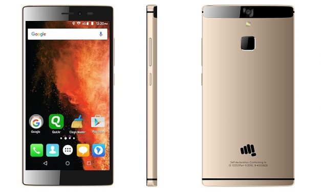 Micromax Canvas 6 with Fingerprint sensor now available for Rs. 13,999